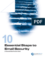 10 Steps to E-Mail Security