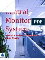 Central Monitoring System - Device Driver Integration Case Study