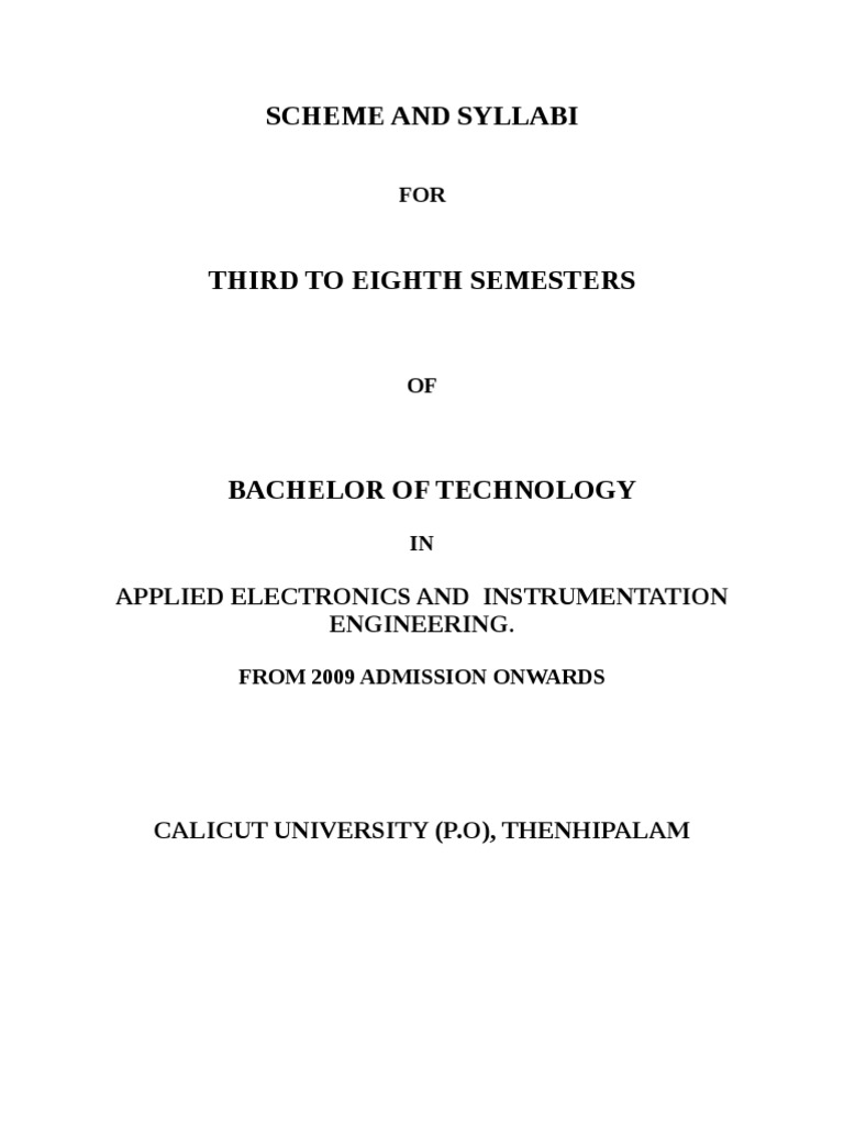 Applied Electronics And Instrumentation Engineering Syllabus Digital Binary Clock With Thermometer Hygrometer Electronicslab Amplifier Operational