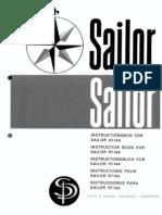 Sailor RT144 Manual