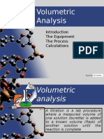 Volumetric Analysis - PW
