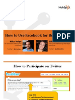 Facebook for Business HubSpot Nov2008