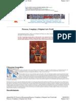 Paracas, Complejo y Original Arte Textil