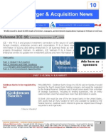 ICE10-Mergers & Acquisitions NEWS