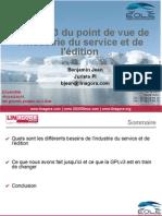 EOLE 2008 — Benjamin Jean — La GPLv3 du point de vue de l'industrie du service et de l'édition — EOLE 2008_0_0
