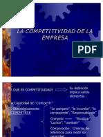 1. La Competividad en La Empresa