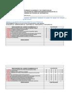 formato de evaluación de competencias INFORMÁTICA