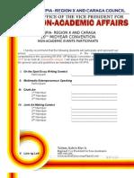 Non-Academics Entry Form