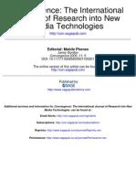 Editorial Mobile Phone