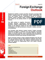 Scotia Forex Outlook August 2011