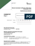 Chemistry Stage 3 Examination 2010