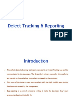 Defect Tracking & Reporting