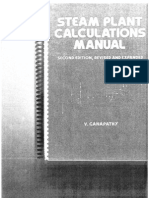 Mechanical - Engineering Steam Plant Calculations Manual(1)