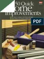 50 Quick Home Improvements