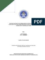 Proposal Faktor Gizi Balita 3