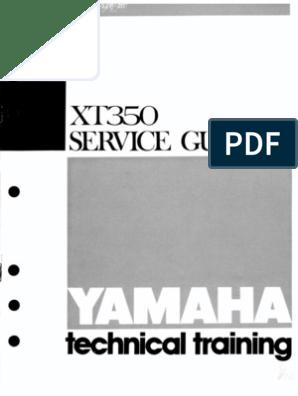 XT350 Service Guide on xs400 wiring diagram, xj550 wiring diagram, pw80 wiring diagram, xs650 wiring diagram, yzf-r1 wiring diagram, xs750 wiring diagram, xt225 wiring diagram, xs850 wiring diagram, it 250 wiring diagram, fz700 wiring diagram, xt250 wiring diagram, xv535 wiring diagram, fjr1300 wiring diagram, sr500 wiring diagram, rd400 wiring diagram, xt600 wiring diagram, sr250 wiring diagram, wr450f wiring diagram, fzr1000 wiring diagram, fj1100 wiring diagram,