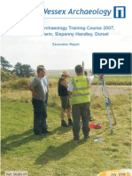 Practical Archaeology Training Course – 2007