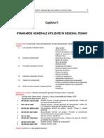 1. Standarde Generale Utilizate in Desenul Tehnic