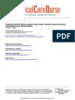 Case Study on Resuscitation