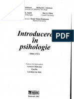 Atkinson - Introduce Re in Psihologie Partea 1