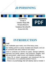 Lead Poisoning Ppt
