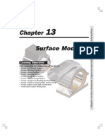 Pro Engineer WF Surface Modeling