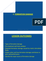 Chapter 2 - Formation Damage