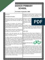Newsletter September 2008