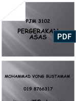 Pergerakan Asas Pjm 3102 t1