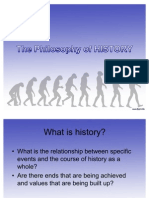 SS2 - Philosophy of History