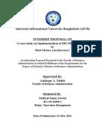 Internship Proposal Nitol Motors ISO