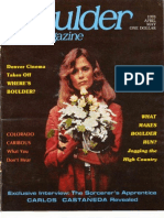 Boulder Magazine - April 1978