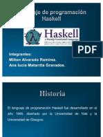 Lenguaje de programación Haskell