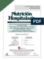 nutricion hospitalaria 2011