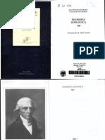 Lamarck Jean Baptiste. Filosofia Zoologica.