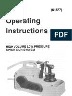 HVLP Sprayer Manual