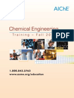 AIChE Fall Catalog FY12