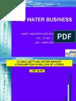 INDV PRESENT - CA - Water Bottle Business