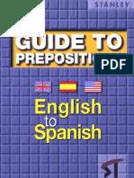 Guide Prepositions