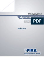 Panorama Agroalimentario Maíz 2011