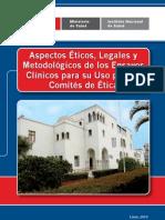 Aspectos Éticos, Legales y Metodologicos EC