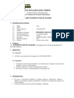 Silabo Windows Movie Maker-prof. Jose de la Rosa Vidal-http://jose-de-la-rosa.blogspot.com/-conferencias de alto impacto
