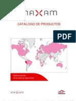 Catalogo de productos Maxam