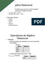 Banco de Dados - EP - Aula 03 - Álgebra Relacional