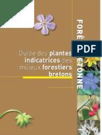Guide Des Plantes Indicatrices Des Milieux Fores Tiers Bretons