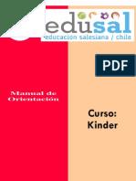 Manual de orientación Kinder
