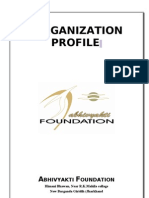 ORGANIZATIONPROFILE avf