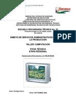 Análisis de Objeto Técnico LA Televisión