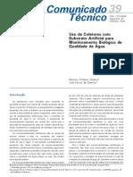 Uso de Coletores com Substrato Artificial para Monitoramento Biológico de Qualidade de Água