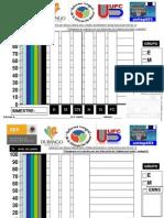 GRÁFICA DE DATOS RESULTADOS DE evaluaciones bimestrales unitep053 2011 2012